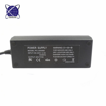 20v 6a power supply charger for Asus
