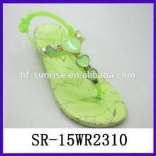 Zapatos de la jalea del melissa de las sandalias del PVC de las sandalias del PVC de la manera de la jalea de los zapatos de la jalea del plástico de la manera