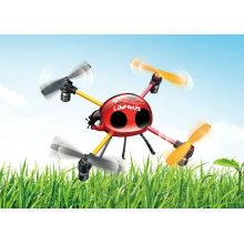 2.4G 4 mini juguetes del UFO de LadyBird RC del canal con el control del LCD (nueva llegada)