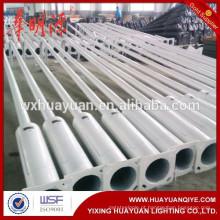 Poste de luz de aço galvanizado de 2m-20m / luz de rua de aço tubular preço do poste