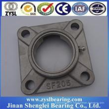 304 en acier inoxydable vente chaude bon prix carré forme coussin bloc roulement à billes sf205