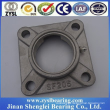 304 stainless steel Hot sale Good Price Square shape pillow block ball bearing sf205