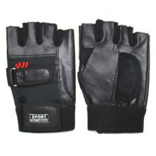 Мужская мода Натуральная кожа без пальцев Бейсбол спортивные перчатки (YKY5035)