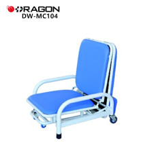 Folding attendant hospital accompany chair