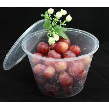 Vente en gros High Insurance Résistant à la chaleur Round PP Microwave Safe Food Container with Lid