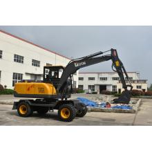 Mini Excavator 7ton Wheels Excavator Machines