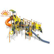 Outdoor HPL Muti-functional Structure Slide For Children