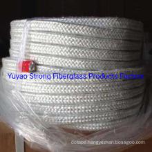 Fiber Glass Braided Square Rope 25X25mm