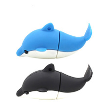 Pen drive em PVC Dolphin personalizado