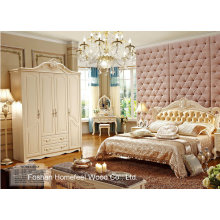 Classical White Color Bedroom Furniture (HF-MG815)