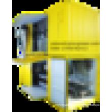 Мобильный зерноуборочный комбайн и упаковочная машина