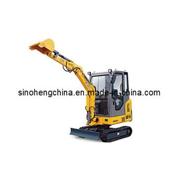 Excavatrice compacte XCMG Xe18 0.044m3 / 16.5 / 2200kw / Rpm1.78ton