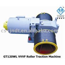 GT120WL VVVF Roller passenger Elevator Traction Machine