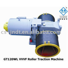 Passageiros GT120WL VVVF rolo máquina de tração de elevador