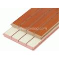 Желобчатых ламинированные МДФ для мебели или украшения