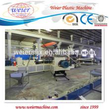 Línea de producción de chapa impermeable de PVC