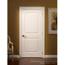 Сложная французская стильная белая краска Деревянные внутренние двери