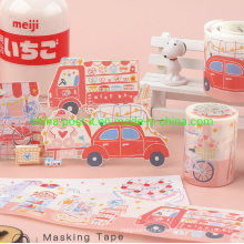 Release Paper with Special Oil Printing Masking Tape for Decoration
