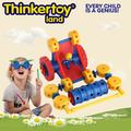 Boy Park Car Plastic Interlocking Garden Toy for Kids