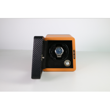 Mikrofaser PU Leder Single Watch Winder Neu