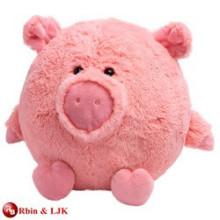 High quality custom stuffed big pig toy