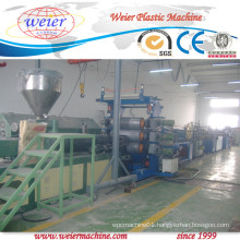 Three Color Printing PVC Edge Banding Extrusion Line Width 400mm