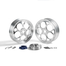 New Arrival Front and Rear Aluminum Alloy Wheels for Vespa Sprint 150 12x3.0 inch Forged Wheel Rims