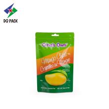 Sello de cremallera para chips de sabor a frutas con cremallera