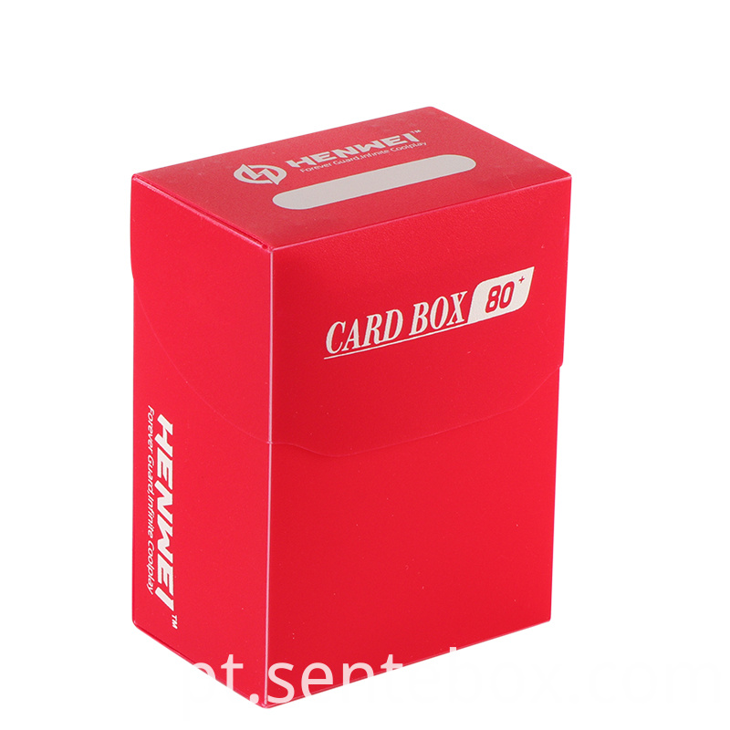 Plastic 80 Pcs Capacity cards protecting Decks Boxes