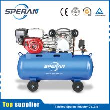 Лучшей цене 2 цилиндра 100 л, поршневые промышленные компрессоры с бензиновым двигателем
