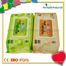 Baby Skincare Wet Wipe Fabrication OEM