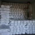 Usine fournisseur Whosale recyclé anneau Polyester filé