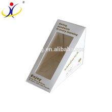 High Quality Triangle Sandwich Paper Packaging Box