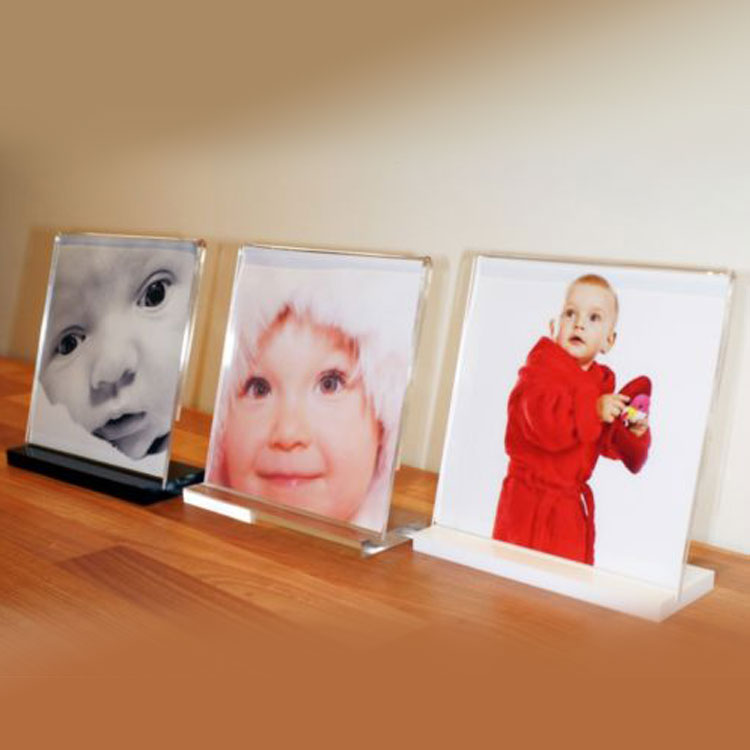 Bent Acrylic Picture Frames
