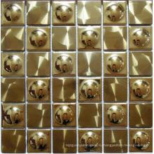 Настенная металлическая мозаичная плитка (SM241)