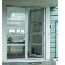 Non-Instructive Openness Hinged Aluminium Doors