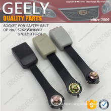 OE GEELY spare Parts socket for safety belt 576235090602 576235110201