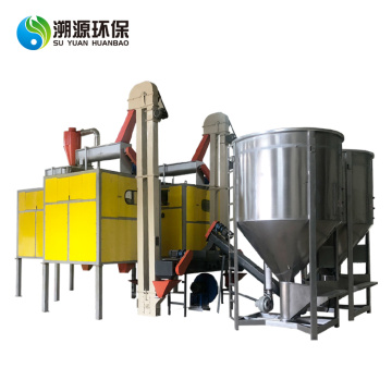 Automatic electrostatic separator plastic sorting equipment