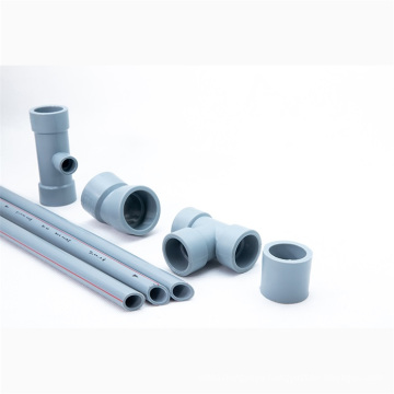 PERT Good Colorability Pipe Plastic Fittings for Stay