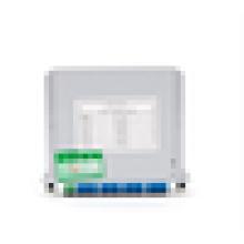1x8 Tipo de inserção Fibra Óptica Splitter PLC (Circuito de Onda Ligeira Planar), 1x8 Tipo de Cassete de Inserção PLC Divisor de Fibra Óptica