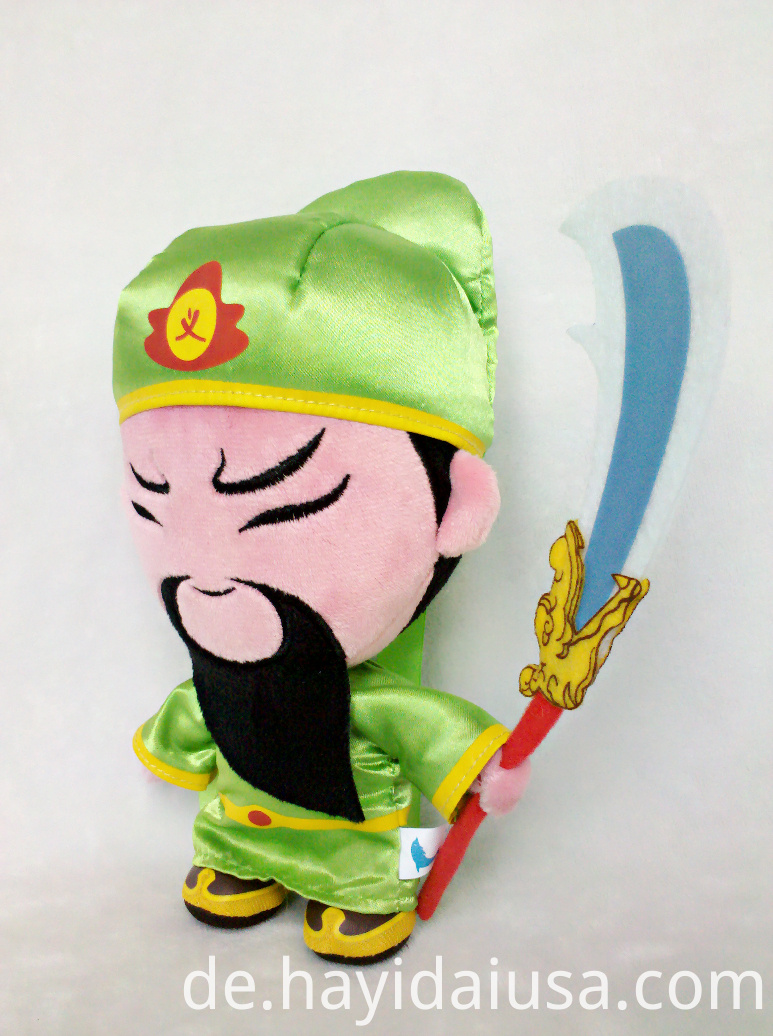 Mighty hero plush toy