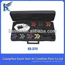 Hot venda AC ferramentas de reparo Handheld AC Mangueira Crimping Tool Kit