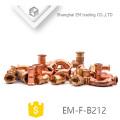 EM-F-B212 Accesorio de tubería de cobre 90 Degrees codo para aire acondicionado