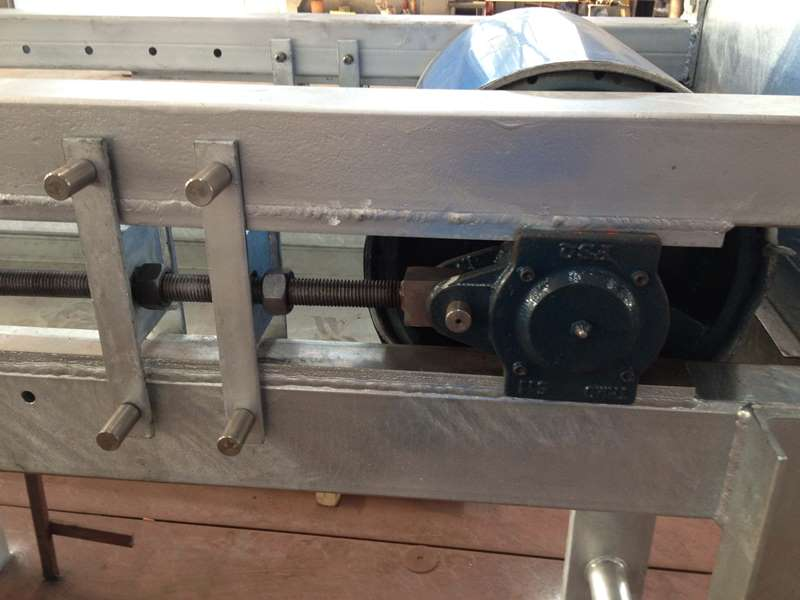 Modular Belt Conveyor Head Takeup