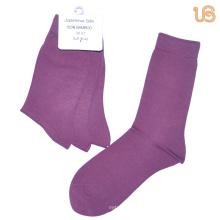 Women′s Solid Bamboo Sock