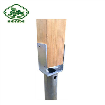 Galvanizado Q235 Steel Ground Anchor Wooden Shed