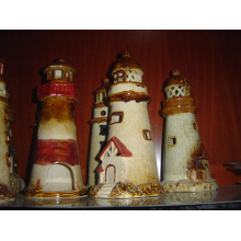 Ceramic Tower Garden Decoration