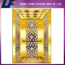 Роскошный титан Золотой дом Лифт