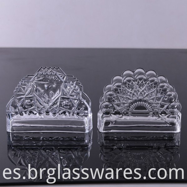crystal glass napkin holder 3