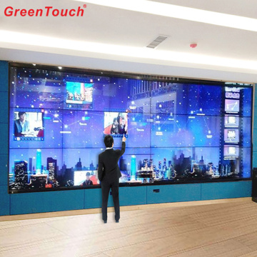 "136 ""Indoor Spilcing Ir Touchscreen Display Monitor"